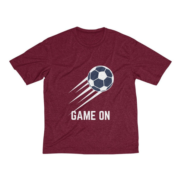 Men's Heather Dri-Fit Tee | Football Game On - BnG Wear