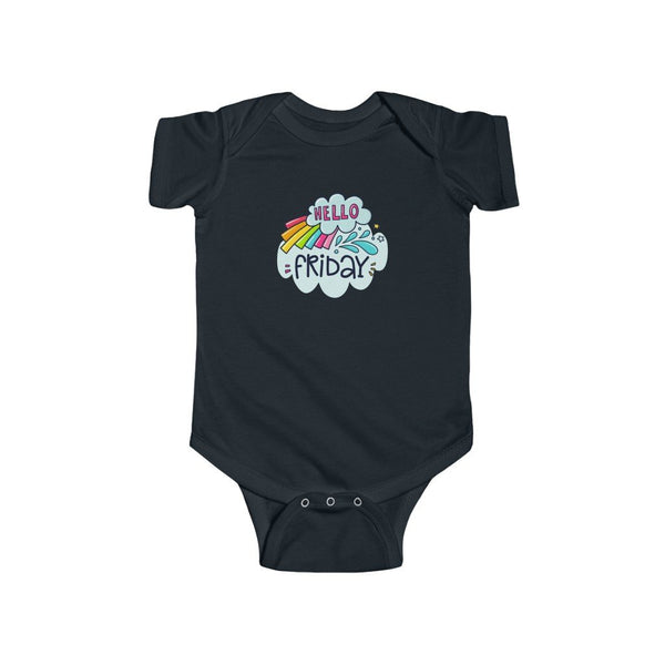 Infant Fine Jersey Bodysuit | Hello Friday - BnG Wear