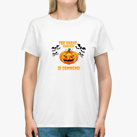 The great Pumpkin is coming Halloween Classic Unisex T-SHIRT