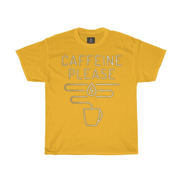 Caffine Please | Printed Tshirt round neck - BnG Wear