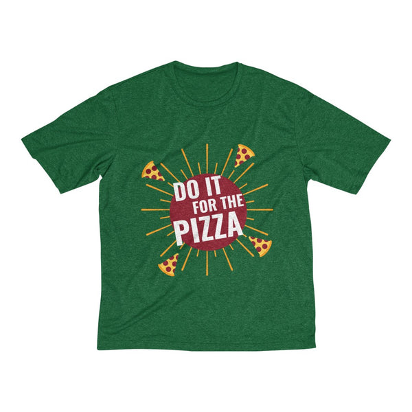 Men's Heather Dri-Fit Tee | Do It For the Pizza
