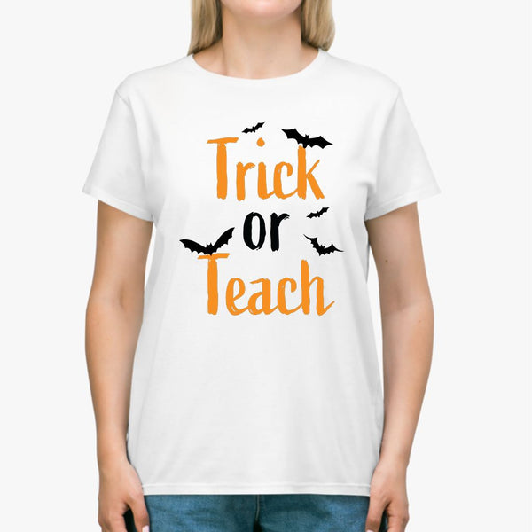 Trick or Teach Halloween Classic Unisex T-SHIRT