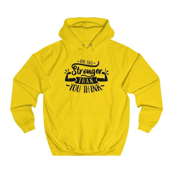 You are stronger than you Think women hoodie - BnG Wear