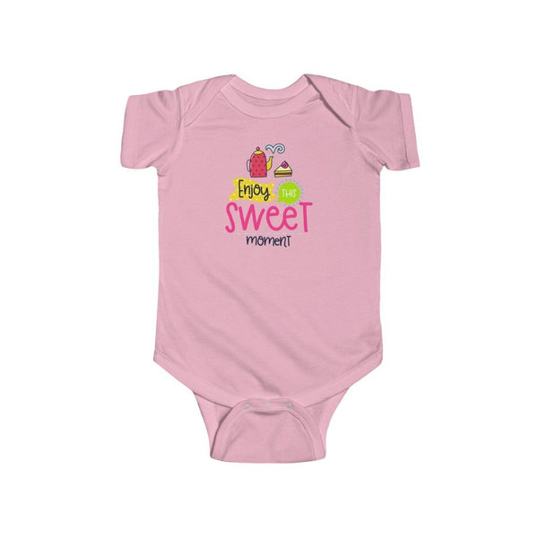 Infant Fine Jersey Bodysuit | Enjoy this sweet moment - BnG Wear