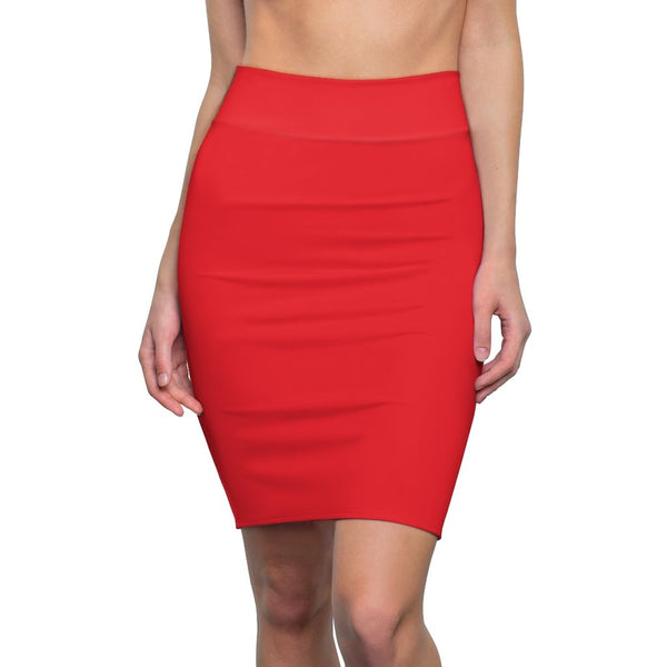 Blood Red Women's Pencil Skirt - BnG Wear
