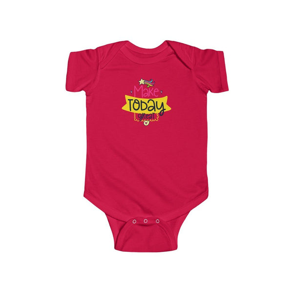 Infant Fine Jersey Bodysuit | Make Today Great - BnG Wear
