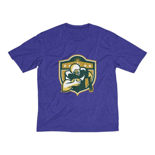 Men's Heather Dri-Fit Tee | Rugby - BnG Wear