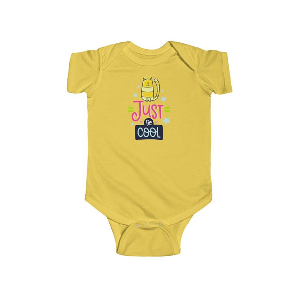Infant Fine Jersey Bodysuit | Just Be Cool - BnG Wear