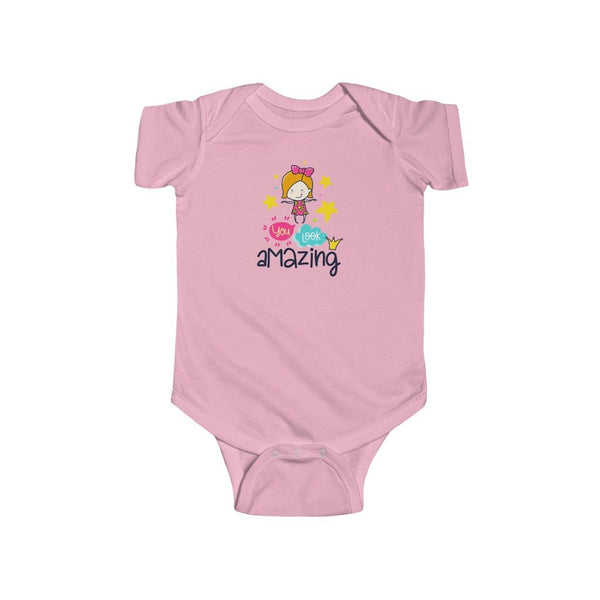 Infant Fine Jersey Bodysuit | You look Amazing - BnG Wear