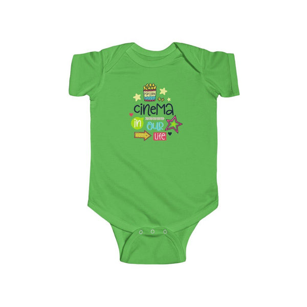 Infant Fine Jersey Bodysuit | Cinema in our life - BnG Wear