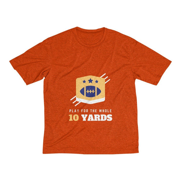 Men's Heather Dri-Fit Tee | Play For The Whole 10 Yards - BnG Wear
