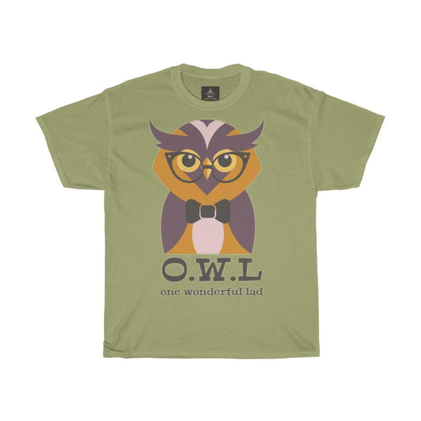 O. W. L. One Wonderful Lad  Women Designous Printed T shirt round neck - BnG Wear