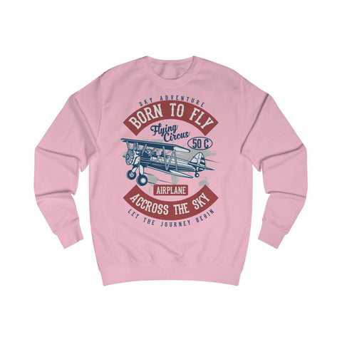 Men's Sweatshirt Born to Fly
