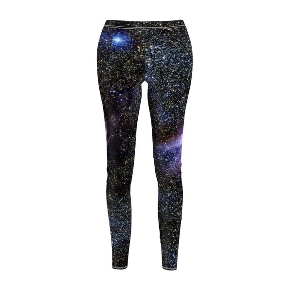 Women's Cut & Sew Casual Leggings | Jeggings | Galaxy Abstract - BnG Wear