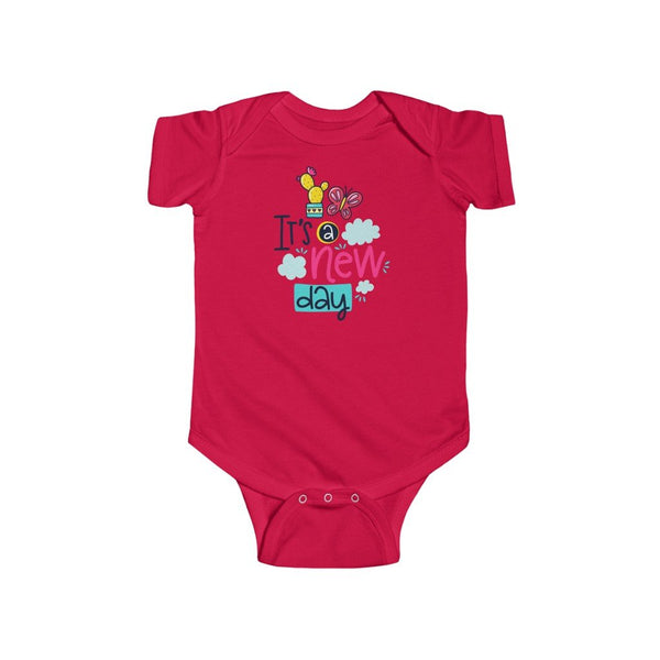 Infant Fine Jersey Bodysuit | Its a new day - BnG Wear