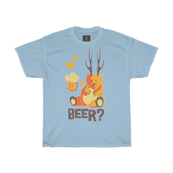 Beer? Women Designous Printed Tshirt round neck - BnG Wear