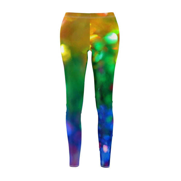 Women's Cut & Sew Casual Leggings | Jeggings | Gems Abstract - BnG Wear