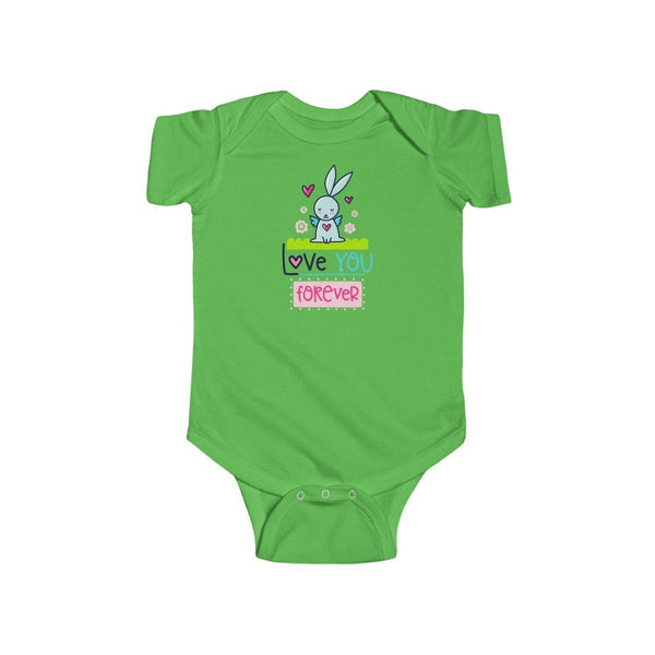 Infant Fine Jersey Bodysuit | Love you Forever - BnG Wear