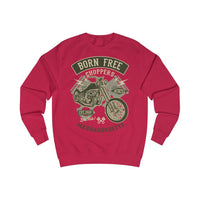 Men's Sweatshirt Born Free Choppers - BnG Wear