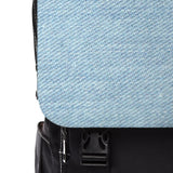Comfort Denim Print Casual Shoulder Backpack - BnG Wear