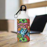 Cute Cartoon Doodle Stainless Steel Water Bottle - BnG Wear