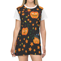 Halloween T-Shirt Dress