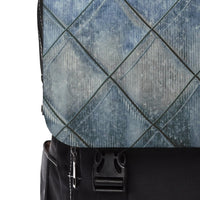 Comfort Leather Print Unisex Casual Shoulder Backpack - BnG Wear