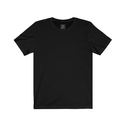 Unisex Jersey Tee Black (Short Sleeve)
