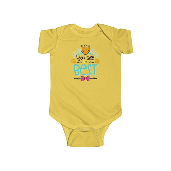 Infant Fine Jersey Bodysuit | You are the best - BnG Wear