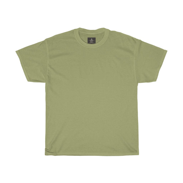 Unisex Round Neck Plain T-Shirt Kiwi Green (Regular Fit)