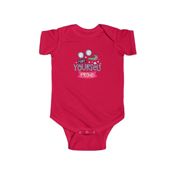 Infant Fine Jersey Bodysuit | Make Yourself Proud - BnG Wear