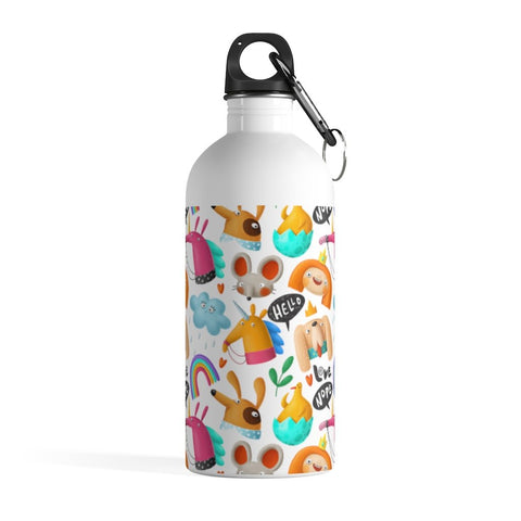 Hello Doodle Stainless Steel Water Bottle - BnG Wear