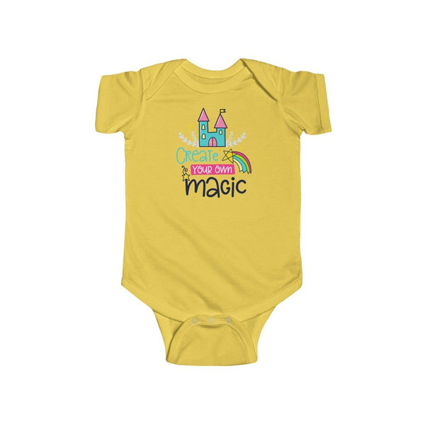 Infant Fine Jersey Bodysuit | Create Your Own Magic - BnG Wear