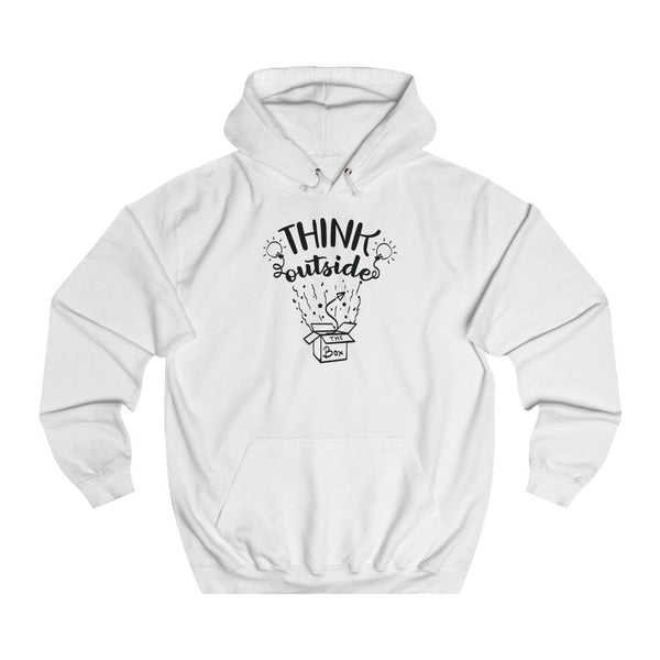 Think Outside the box women hoodie - BnG Wear
