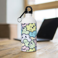 Cloud Doodle Stainless Steel Water Bottle - BnG Wear
