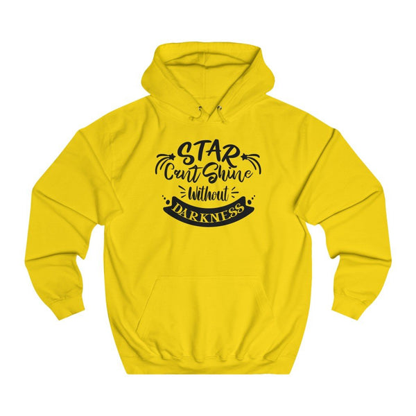Star Cant Shine without darkness women hoodie - BnG Wear