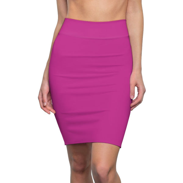 Dark Pink Women's Pencil Skirt - BnG Wear