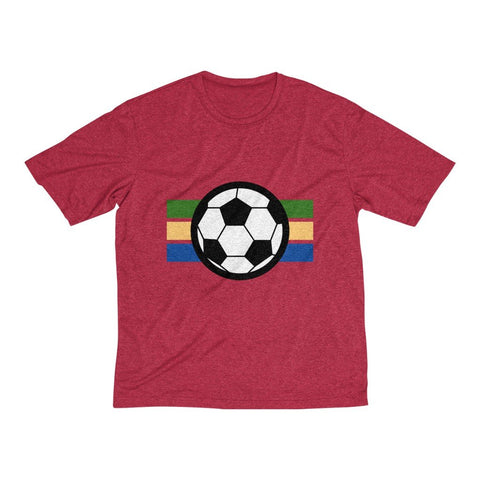 Men's Heather Dri-Fit Tee | Football - BnG Wear