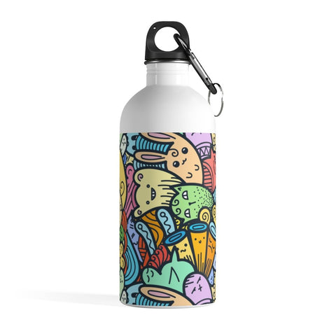 Cute Doodle Stainless Steel Water Bottle - BnG Wear