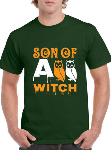 Son of a Witch Halloween Owl Classic Unisex T-SHIRT