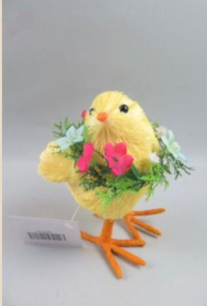 Chick - 11cm with Wreath