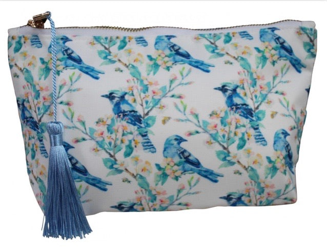 COSMETIC BAG - KINGFISHER