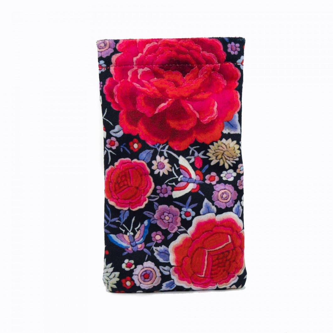 Velvet Glasses Case – Flamenco