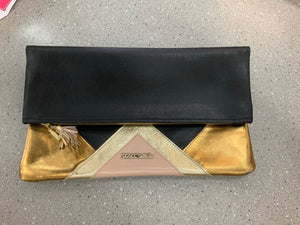 BLACK & GOLD CLUTCHES