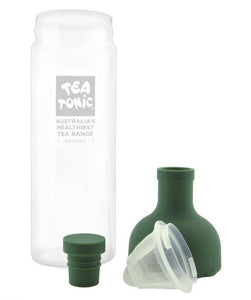 GLASS TEA BOTTLE