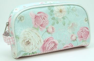 Floral Cosmetic Bag Large