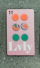 Load image into Gallery viewer, Lvly Earrings - 3 Stud Pack