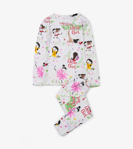 KIDS PYJAMA & BOOK SET - DEAR GIRL