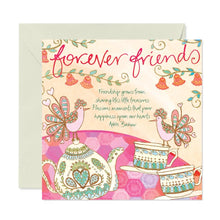 Load image into Gallery viewer, Friendship Teacups Greeting Card