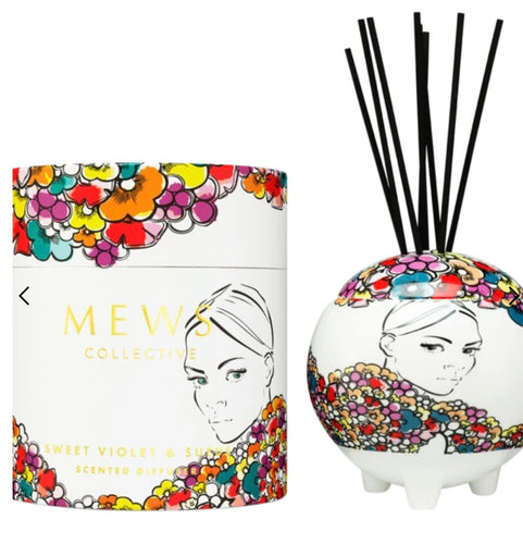 MEWS - SWEET VIOLET & SUEDE LARGE DIFFUSER 350ml